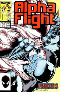 Cover Thumbnail for Alpha Flight (Marvel, 1983 series) #46 [Direct Edition]