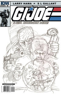 Cover Thumbnail for G.I. Joe: A Real American Hero (IDW, 2010 series) #167 [Cover RI]