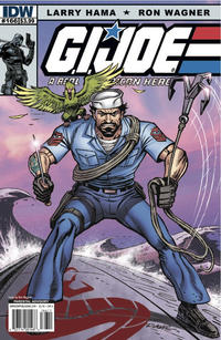 Cover Thumbnail for G.I. Joe: A Real American Hero (IDW, 2010 series) #166 [Cover A]