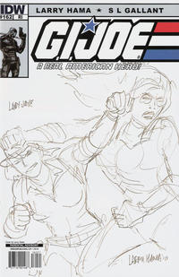 Cover Thumbnail for G.I. Joe: A Real American Hero (IDW, 2010 series) #162 [Cover RI]