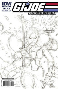 Cover Thumbnail for G.I. Joe: A Real American Hero (IDW, 2010 series) #158 [Cover RI]
