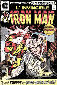Cover Thumbnail for L' Invincible Iron Man (Editions Héritage, 1972 series) #9