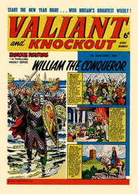 Cover Thumbnail for Valiant and Knockout (IPC, 1963 series) #4 January 1964