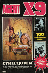 Cover Thumbnail for Agent X9 (Semic, 1971 series) #12/1980