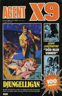 Cover Thumbnail for Agent X9 (Semic, 1971 series) #8/1985