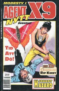 Cover Thumbnail for Agent X9 (Semic, 1971 series) #3/1995