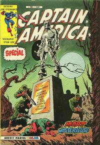 Cover Thumbnail for Captain America Spécial (Arédit-Artima, 1985 series)
