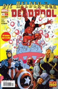 Cover Thumbnail for Deadpool (Panini Deutschland, 2011 series) #4