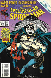 Cover Thumbnail for The Spectacular Spider-Man (Marvel, 1976 series) #217