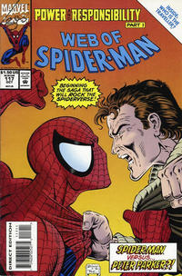 Cover Thumbnail for Web of Spider-Man (Marvel, 1985 series) #117