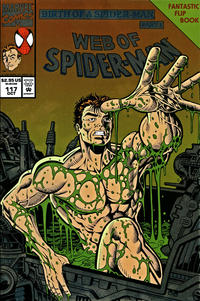 Cover Thumbnail for Web of Spider-Man (Marvel, 1985 series) #117 [Flipbook] [Direct Edition]