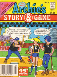 Cover for Archie's Story & Game Digest Magazine (Archie, 1986 series) #4