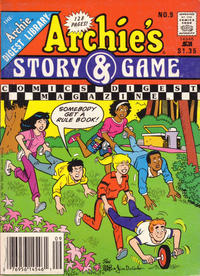 Cover Thumbnail for Archie's Story & Game Digest Magazine (Archie, 1986 series) #9