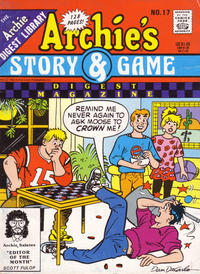 Cover Thumbnail for Archie's Story & Game Digest Magazine (Archie, 1986 series) #17