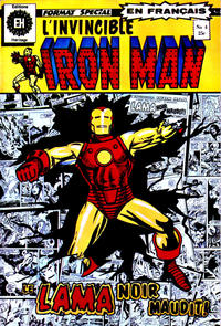 Cover Thumbnail for L'Invincible Iron Man (Editions Héritage, 1972 series) #4