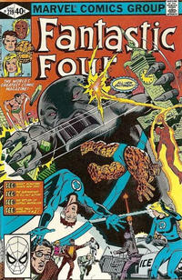 Cover Thumbnail for Fantastic Four (Marvel, 1961 series) #219 [Direct Edition]