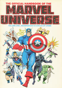 Cover Thumbnail for The Official Handbook of the Marvel Universe (Marvel, 1986 series) #1