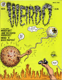 Cover Thumbnail for Weirdo (Last Gasp, 1981 series) #21 [2nd print- 3.95 USD]