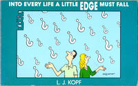 Cover Thumbnail for Into Every Life a Little Edge Must Fall (Fantagraphics, 1988 series)