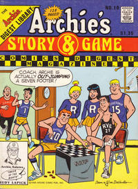 Cover Thumbnail for Archie's Story & Game Digest Magazine (Archie, 1986 series) #10 [Direct]