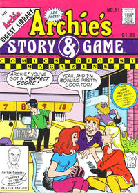 Cover Thumbnail for Archie's Story & Game Digest Magazine (Archie, 1986 series) #11 [Direct]