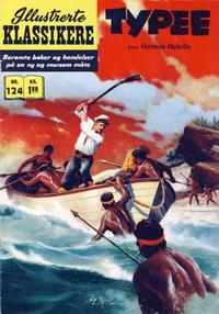 Cover Thumbnail for Illustrerte Klassikere [Classics Illustrated] (Illustrerte Klassikere / Williams Forlag, 1957 series) #124 - Typee