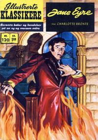 Cover Thumbnail for Illustrerte Klassikere [Classics Illustrated] (Illustrerte Klassikere / Williams Forlag, 1957 series) #120 - Jane Eyre