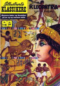 Cover Thumbnail for Illustrerte Klassikere [Classics Illustrated] (Illustrerte Klassikere / Williams Forlag, 1957 series) #118 - Kleopatra