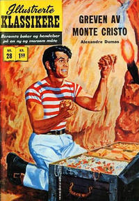 Cover Thumbnail for Illustrerte Klassikere [Classics Illustrated] (Illustrerte Klassikere / Williams Forlag, 1957 series) #28 - Greven av Monte Cristo [1. opplag]