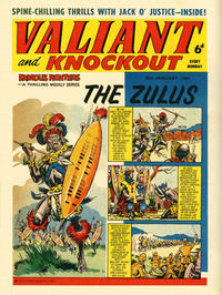 Cover Thumbnail for Valiant and Knockout (IPC, 1963 series) #25 January 1964