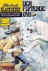 Cover for Illustrerte Klassikere [Classics Illustrated] (Illustrerte Klassikere / Williams Forlag, 1957 series) #218 - Den flytende øya