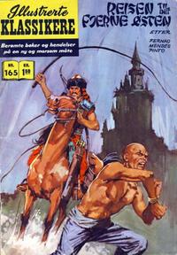 Cover Thumbnail for Illustrerte Klassikere [Classics Illustrated] (Illustrerte Klassikere / Williams Forlag, 1957 series) #165 - Reisen til det fjerne østen