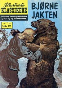Cover Thumbnail for Illustrerte Klassikere [Classics Illustrated] (Illustrerte Klassikere / Williams Forlag, 1957 series) #166 - Bjørnejakten