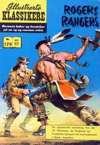 Cover Thumbnail for Illustrerte Klassikere [Classics Illustrated] (Illustrerte Klassikere / Williams Forlag, 1957 series) #179 - Rogers Rangers