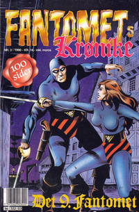 Cover Thumbnail for Fantomets krønike (Semic, 1989 series) #3/1990