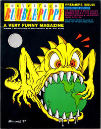 Cover Thumbnail for Centrifugal Bumble-Puppy (Fantagraphics, 1987 series) #1
