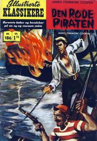 Cover Thumbnail for Illustrerte Klassikere [Classics Illustrated] (Illustrerte Klassikere / Williams Forlag, 1957 series) #186 - Den røde piraten