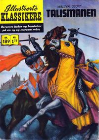 Cover for Illustrerte Klassikere [Classics Illustrated] (Illustrerte Klassikere / Williams Forlag, 1957 series) #189 - Talismanen