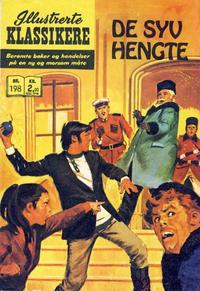 Cover Thumbnail for Illustrerte Klassikere [Classics Illustrated] (Illustrerte Klassikere / Williams Forlag, 1957 series) #198 - De syv hengte