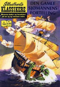 Cover Thumbnail for Illustrerte Klassikere [Classics Illustrated] (Illustrerte Klassikere / Williams Forlag, 1957 series) #199 - Den gamle sjømannens fortelling