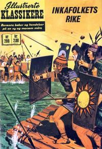 Cover Thumbnail for Illustrerte Klassikere [Classics Illustrated] (Illustrerte Klassikere / Williams Forlag, 1957 series) #200 - Inkafolkets rike