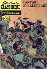 Cover Thumbnail for Illustrerte Klassikere [Classics Illustrated] (Illustrerte Klassikere / Williams Forlag, 1957 series) #202 - Tartaroverløperen