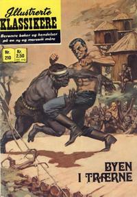 Cover Thumbnail for Illustrerte Klassikere [Classics Illustrated] (Illustrerte Klassikere / Williams Forlag, 1957 series) #210 - Byen i trærne