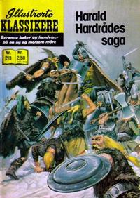 Cover Thumbnail for Illustrerte Klassikere [Classics Illustrated] (Illustrerte Klassikere / Williams Forlag, 1957 series) #213 - Harald Hardrådes saga