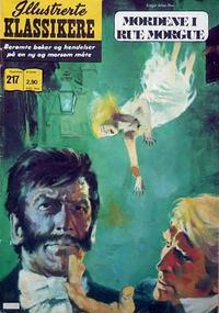 Cover Thumbnail for Illustrerte Klassikere [Classics Illustrated] (Illustrerte Klassikere / Williams Forlag, 1957 series) #217 - Mordene i Rue Morgue