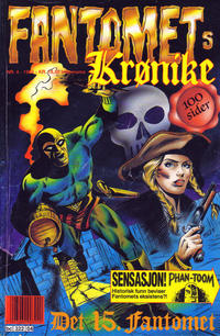 Cover Thumbnail for Fantomets krønike (Semic, 1989 series) #4/1991