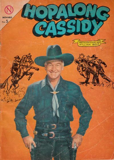 Cover for Hopalong Cassidy (Editorial Novaro, 1952 series) #112