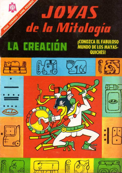 Cover for Joyas de la Mitología (Editorial Novaro, 1962 series) #47