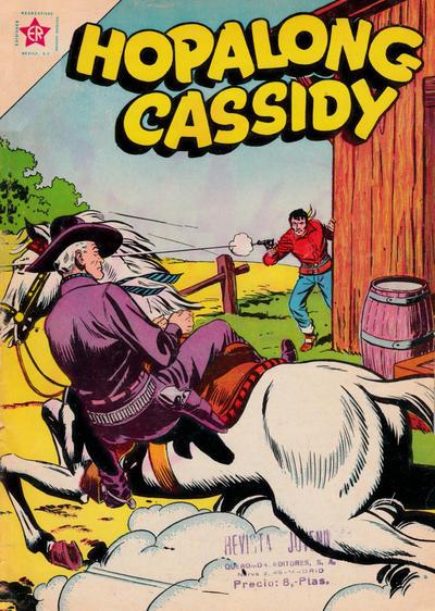 Cover for Hopalong Cassidy (Editorial Novaro, 1952 series) #89