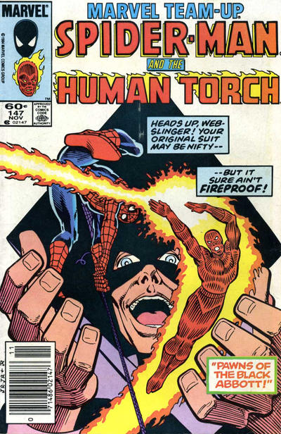 Cover for Marvel Team-Up (Marvel, 1972 series) #147 [Newsstand]